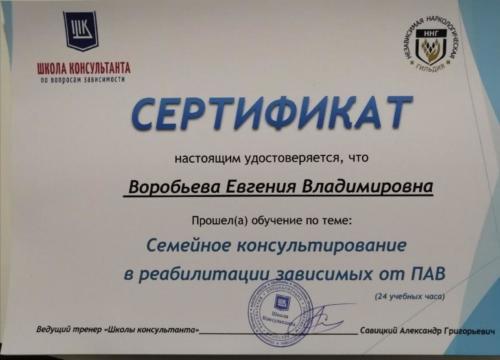 Воробьева Владимировна 4